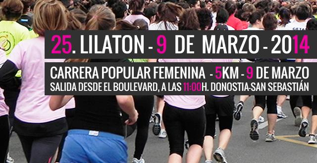 25ª Lilatón ¡Anímate y participa!