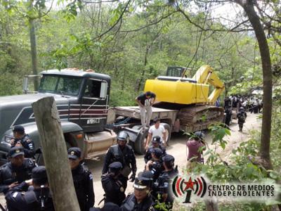 Comunicado de La Asociación Colectivo Poder y Desarrollo Local sobre el desalojo violento de la Puya
