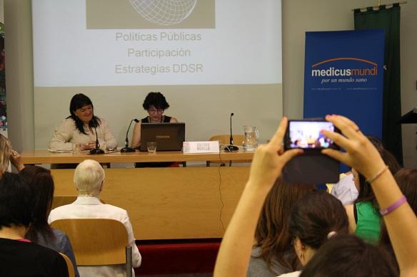 Itziar Irazabal y Soledad Murillo