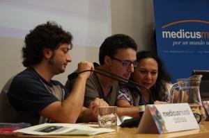 Rikardo Fernadez, Jorge Irazola y Ana Silvia Monzón
