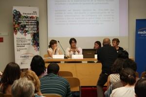 Ines Eguino, Cristina Alvarado, Verónica Cruz y Teresa Maldonado