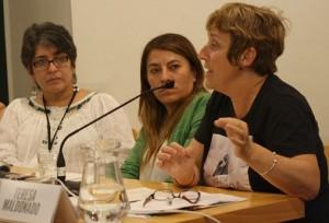 Cristina Alvarado, Verónica Cruz y Teresa Maldonado