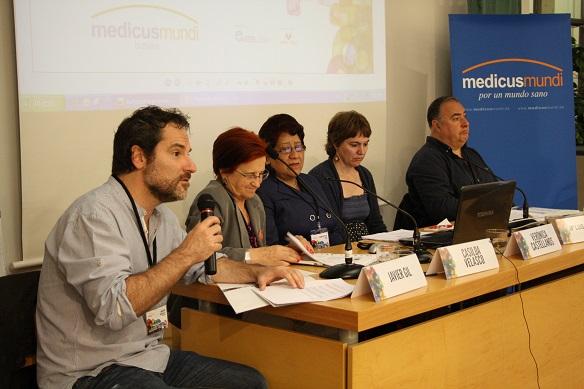 Javier Gil, Casilda Velasco, Verónica Castellanos, María Luisa Delgado y Juan Luís Uría