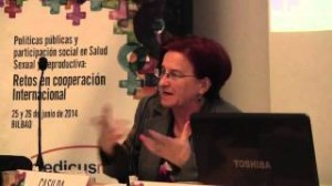 Mesa de Debate: La prestación de derechos socio-sanitarios desde el sistema de salud: Casilda Velasco