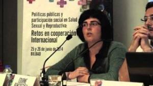 Conferencia: Proyección a futuro. Los retos de la cooperación en las políticas de salud sexual y reproductiva: Edurne Bengoetxea