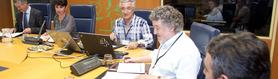 Medicus Mundi, Médicos del Mundo y Prosalus exigen en el Parlamento Vasco el cumplimiento de la Ley Vasca de Cooperación y la armonización de la política fiscal en materia de desgravación Image