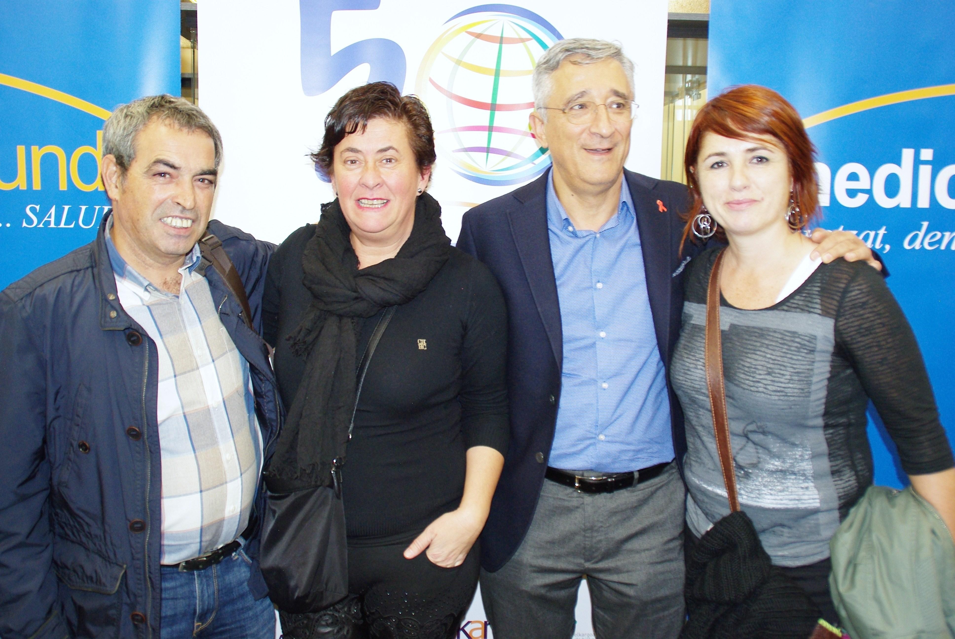 Félix Fuentenebro, Nerea Zabala, Eduardo García Langarica, Itziar Inza