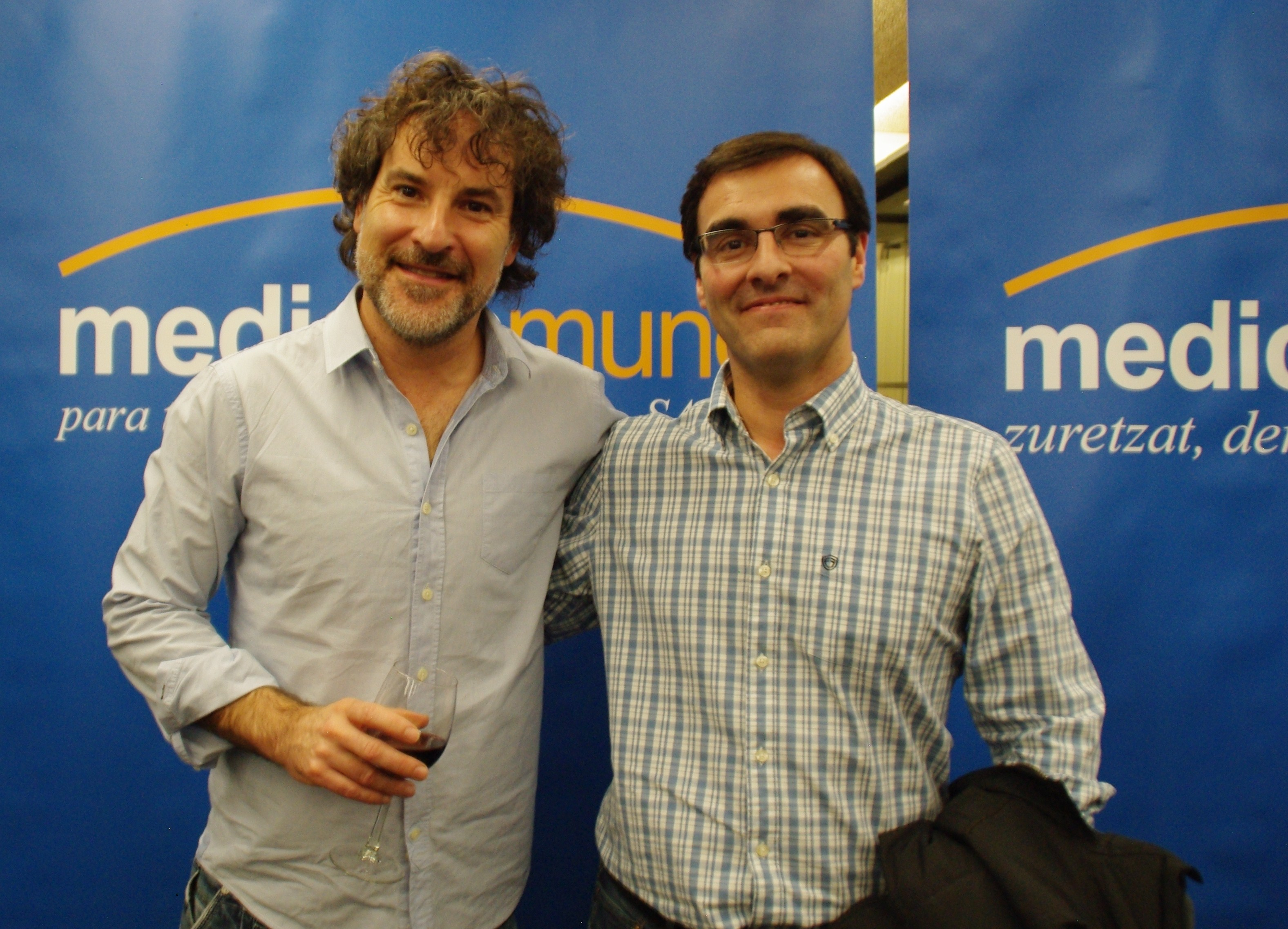 Javier Gil y Jorge Gutiérrez