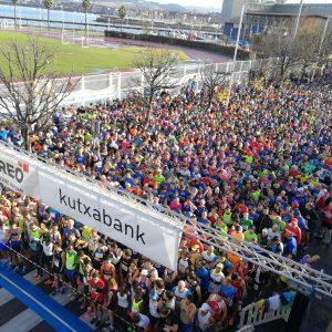 Jornada festiva en la carrera popular Desde Santurce a Bilbao