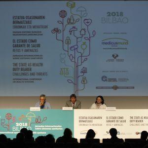 El ESTADO COMO GARANTE DE SALUD RETOS Y AMENAZAS – Bilbao 2018