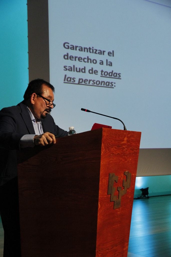 El Viceministro habló sobre la cobertura universal de la salud y el papel del Estado como garante de salud. Verdades y mentiras sobre la privatización y mercantilización de la salud
