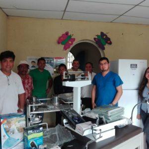 Objetivo del Crowdfunding cumplido: los materiales ya están en el centro de salud de El Reposo, en Guatemala