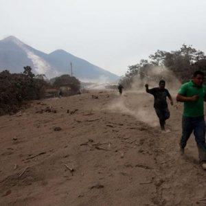 Emergencia en Guatemala tras la erupción del Volcán de Fuego