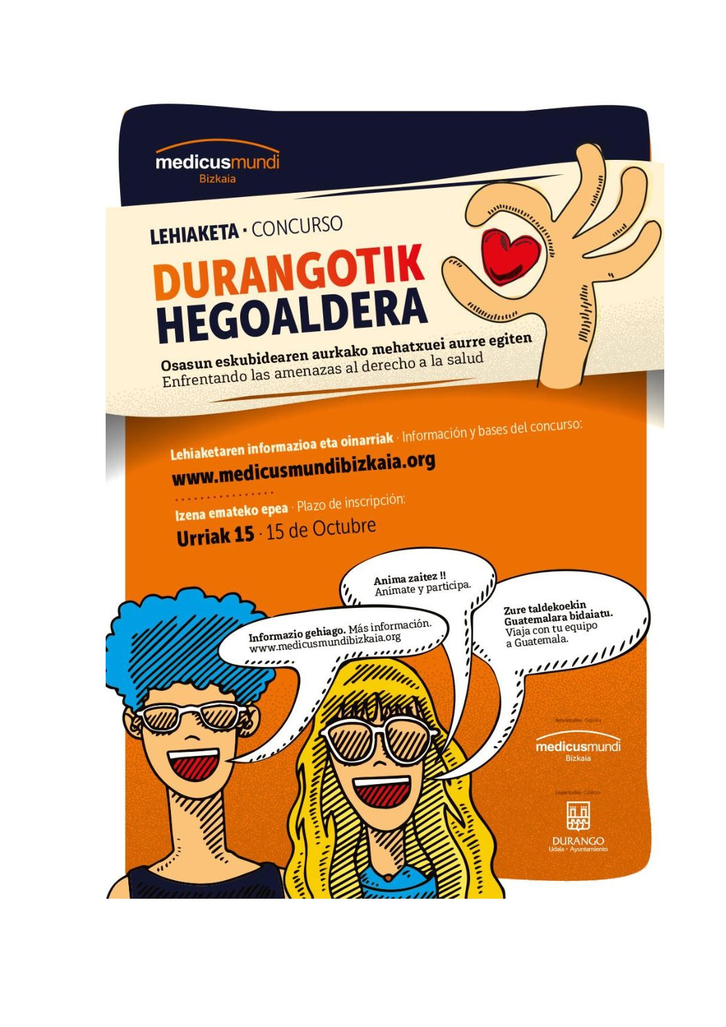 DURANGOTIK HEGOALDERA –  Concurso