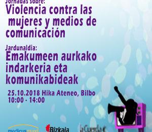 Violencia contra las mujeres y medios de comunicación – Jornada 25/10/2018 Image