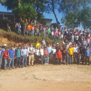 El Ayuntamiento de Iurreta financia el trabajo que realizamos con la etnia Lenca en Honduras