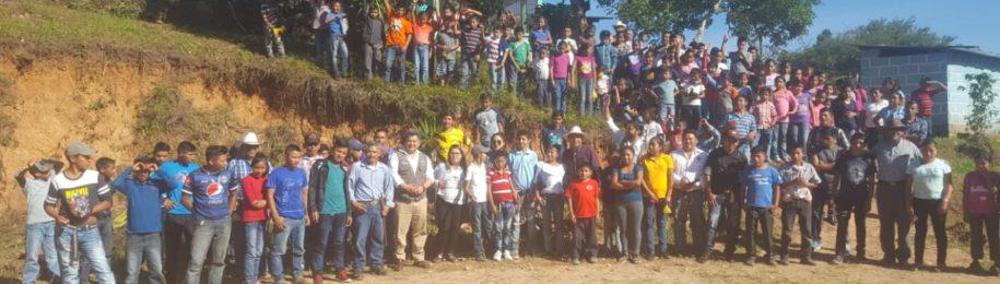 El Ayuntamiento de Iurreta financia el trabajo que realizamos con la etnia Lenca en Honduras Image