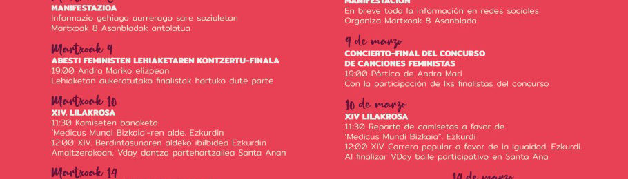 10 de Marzo XIV Lilakrosa en Durango. ¡Corre con nosotras! Image