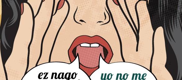 """""""Ez nago salgai, eta zu?"""" Indarkeria sinbolikoaren aurkako kanpaina Image"""