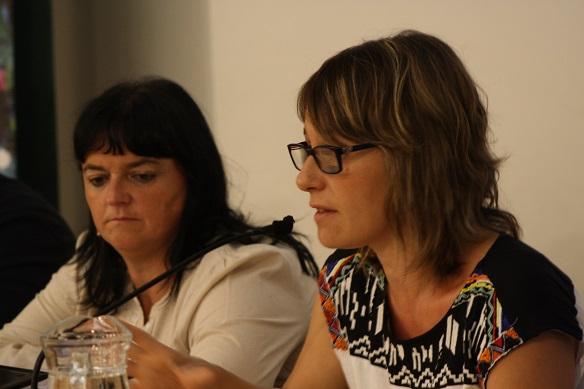Itziar Irazabal y Mónica Fernández