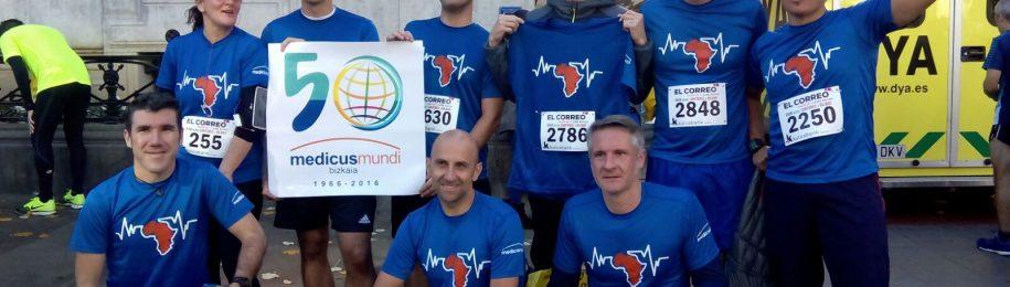 """En nombre de medicusmundi bizkaia, agradecemos el apoyo recibido a raíz de la Carrera """"Desde Santurtzi a Bilbao"""" Image"""