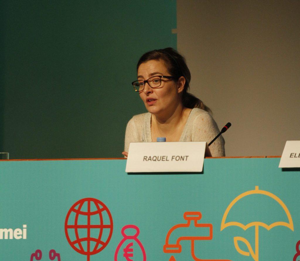 Raquel Font, investigadora del Opik