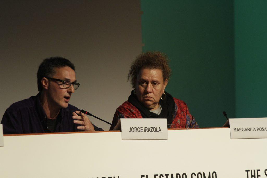Jorge Irazola de medicusmundi NAM y Margarita Posada