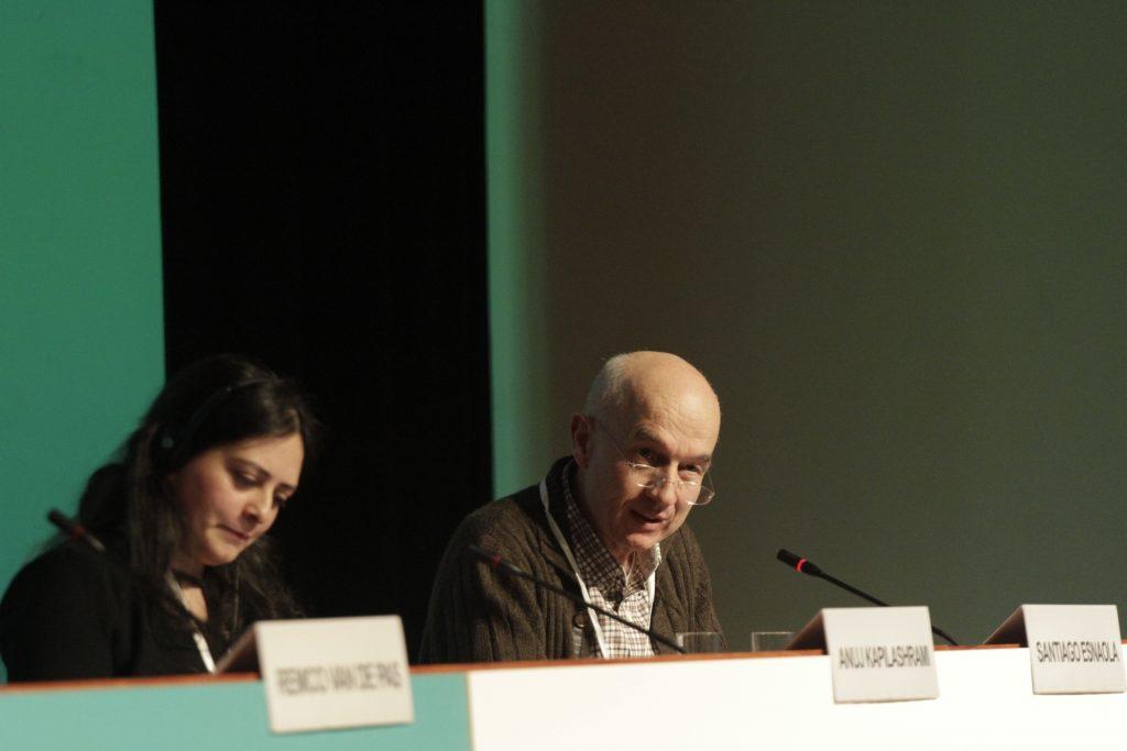 Anuj Kapilashrami y Santiago Esnaola