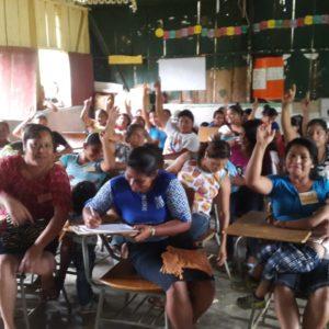 Mujeres en red: Por el acceso al agua y al saneamiento en Omoa