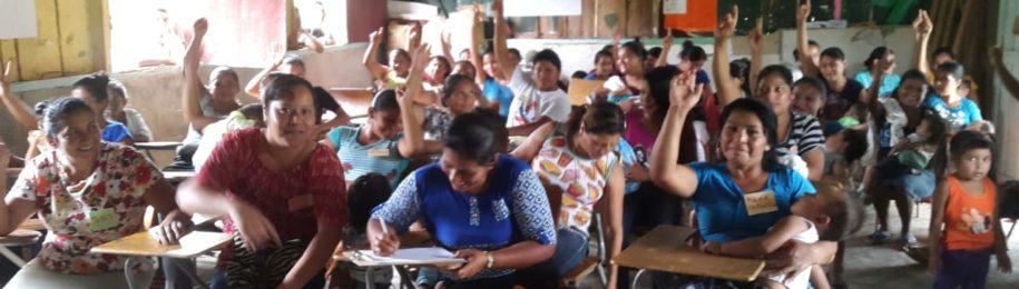 Mujeres en red: Por el acceso al agua y al saneamiento en Omoa Image